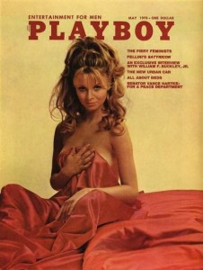 Playboy Cover, 1970